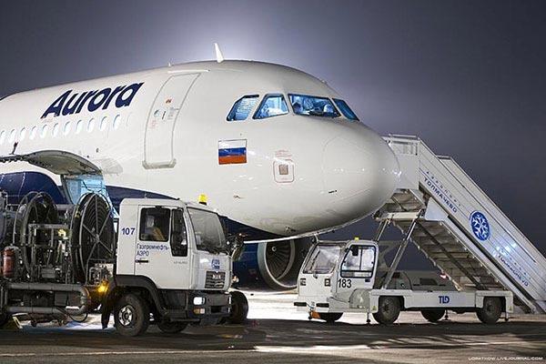 Новый рейс из Владивостока в Китай