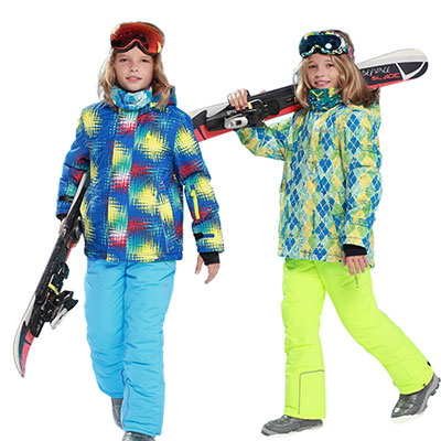 Детские горнолыжные костюмы оптом из Китая
